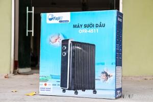 Đánh giá máy sưởi dầu OFR4511 làm ấm nhanh, không gây khô da