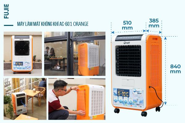 Máy làm mát cao cấp FujiE AC-601 (Orange)