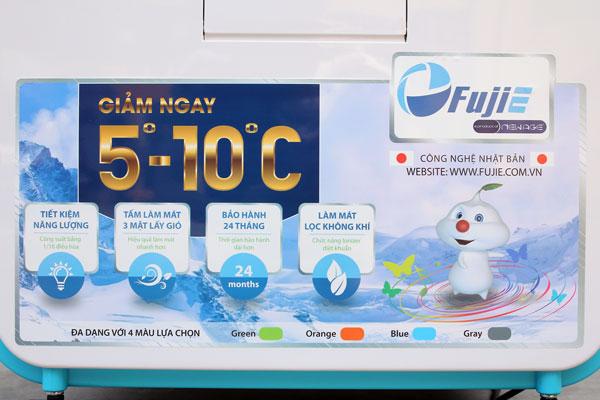 Máy làm mát cao cấp FujiE AC-602 (Blue)