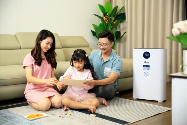 máy lọc không khí gia đình