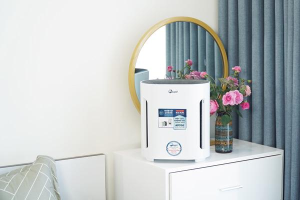 máy lọc không khí cho khách sạn