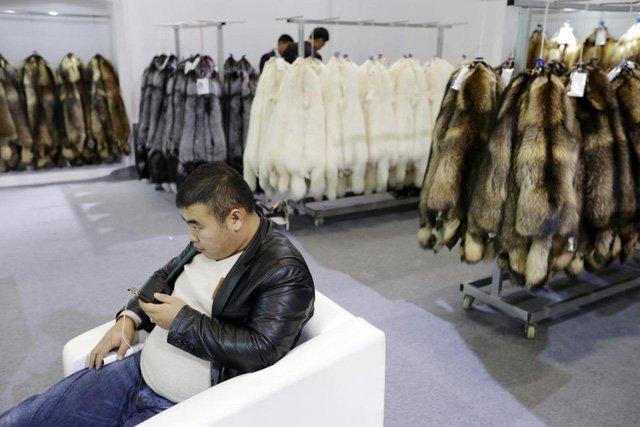 Bảo quản lông thú và hàng hóa bằng lông thú