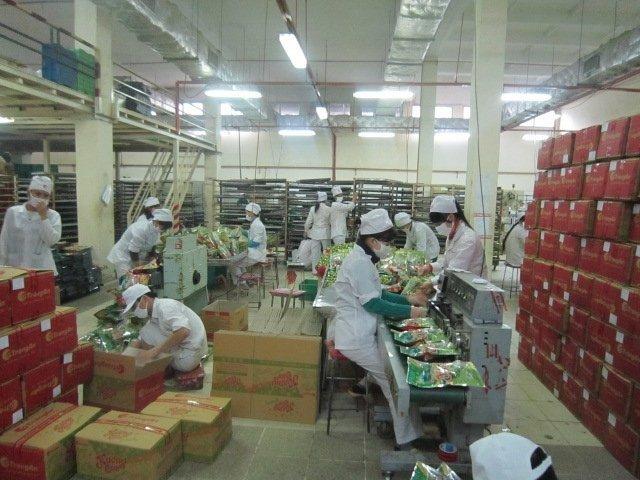 Biện pháp xử lý ẩm toàn diện trong quá trình sản xuất bánh kẹo