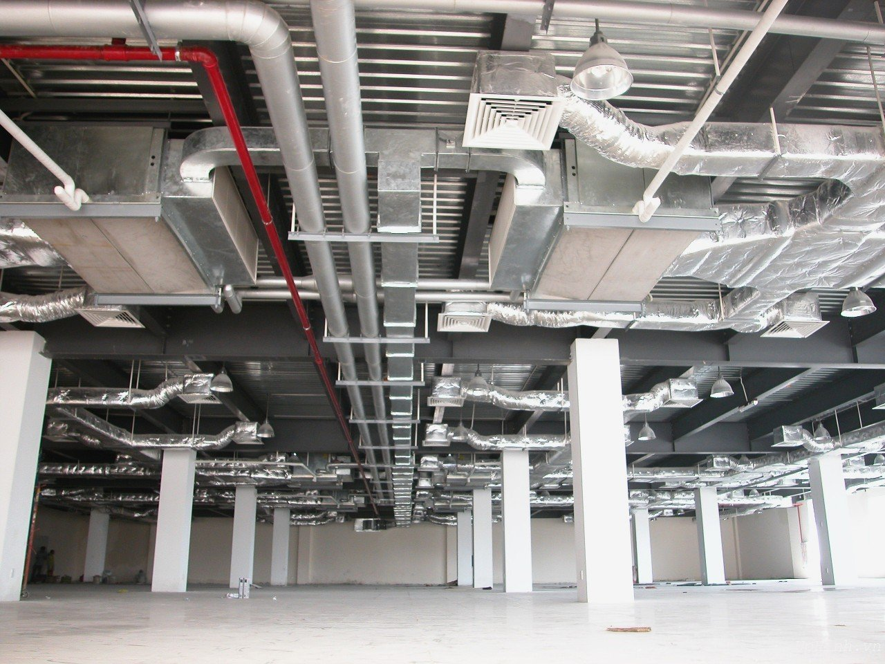 Tích hợp việc sử dụng máy hút ẩm công nghiệp FujiE vào hệ thống thông gió và điều hòa